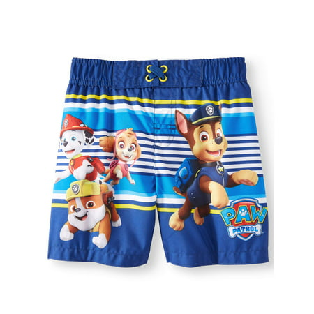 Board Short Swim Trunks (Toddler - Skull Swim Trunks