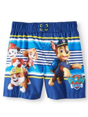 e8c595682b Product Image Paw Patrol Board Short Swim Trunks (Toddler Boys)