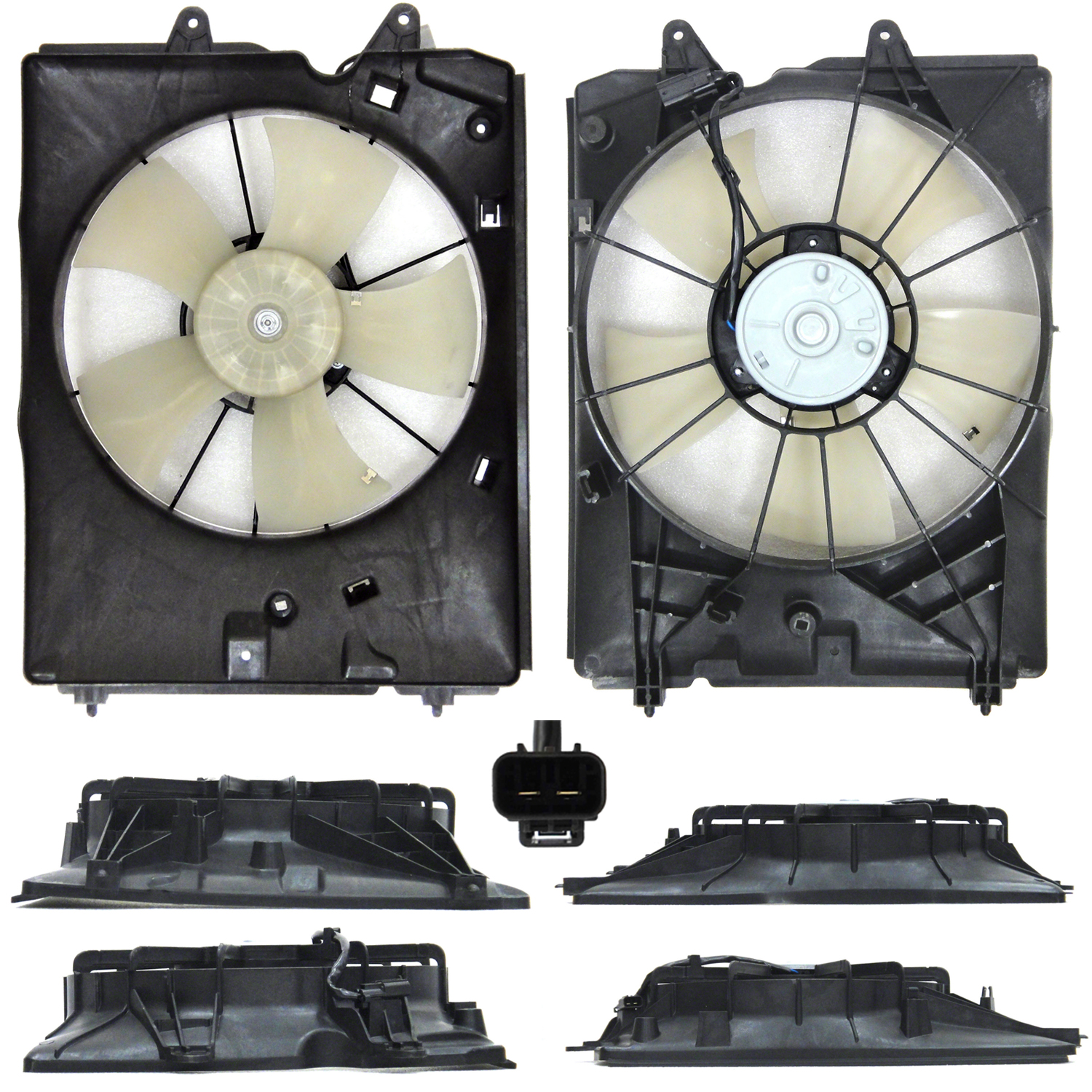 Radiator Cooling Fan Assembly For Acura MDX  AC3115119Q