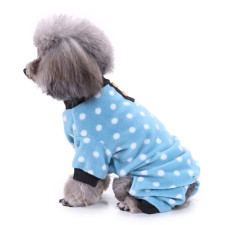 40f6ab0cbed3 Sweetsmile Pet Dog Pajamas Clothes Winter Warm Sweater Coat For Dogs Puppy  Jumpsuit For Small Dogs - Walmart.com