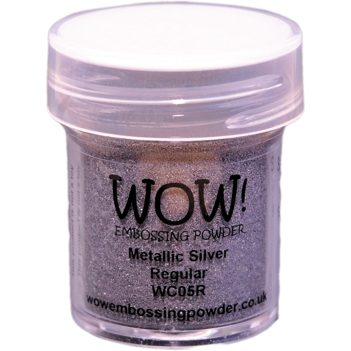 WOW! Embossing Powder 15ml-Silver