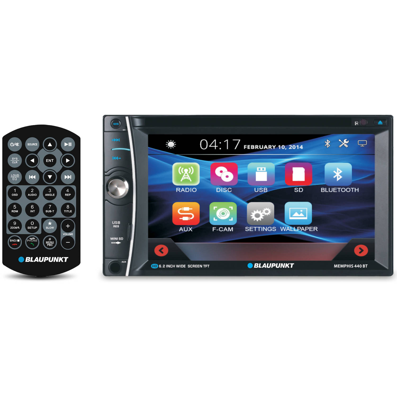 "Blaupunkt 6.2"" Touchscreen Multimedia Receiver with Bluetooth"