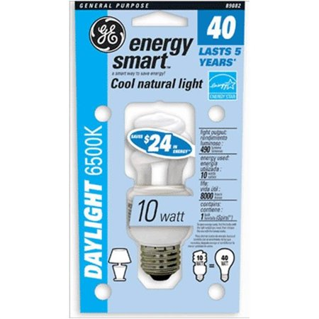 Time Zones Daylight - 38521 Energy Smart 9w Cfl-40w Equiv Daylight Spiral Bulb (89082 10w)
