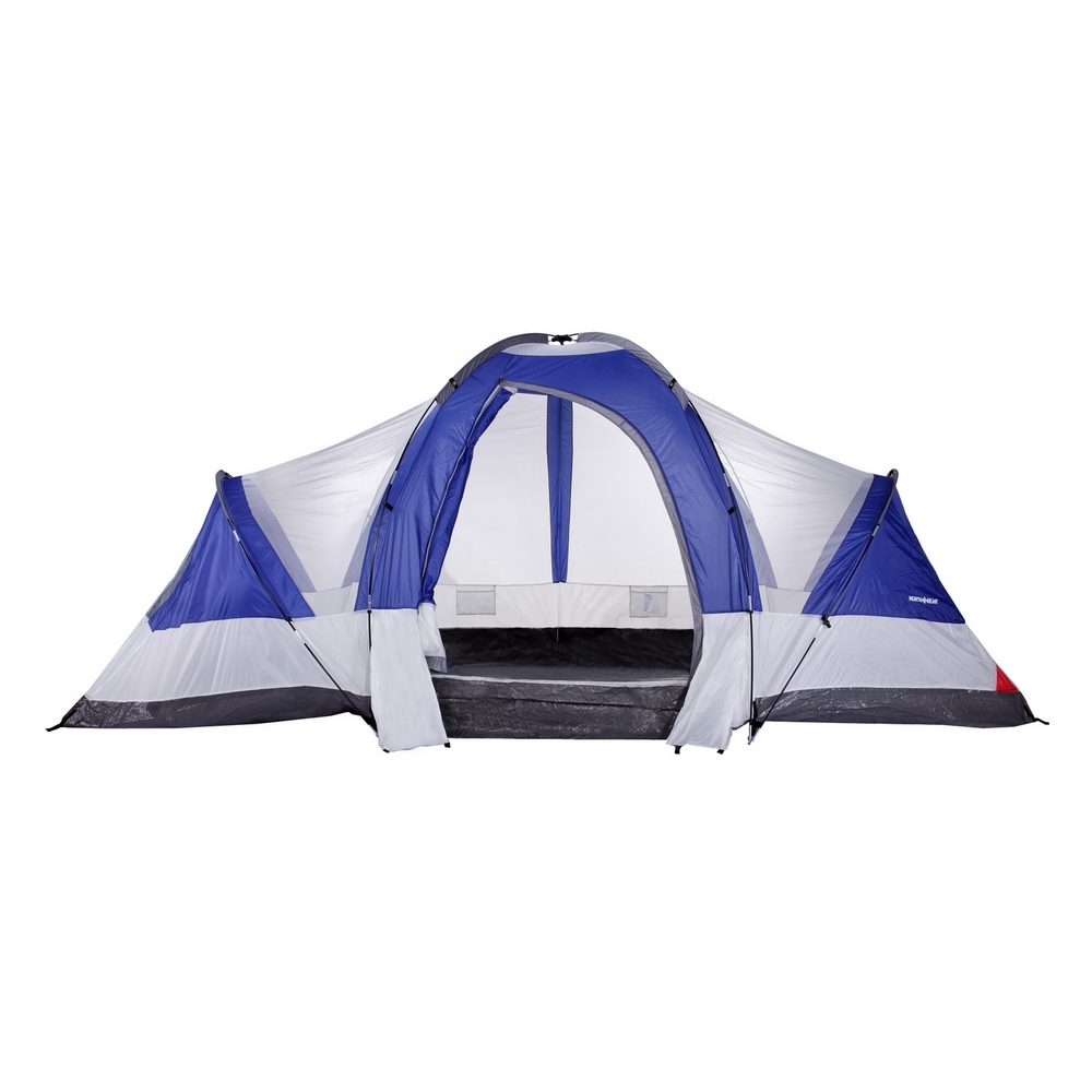 North Gear Camping Deluxe 8 Person 2 Room Family Tent by North Gear