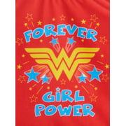 517827ac38 DC Superhero Girls - Toddler Girls' Wonder Woman Tutu One Piece ...
