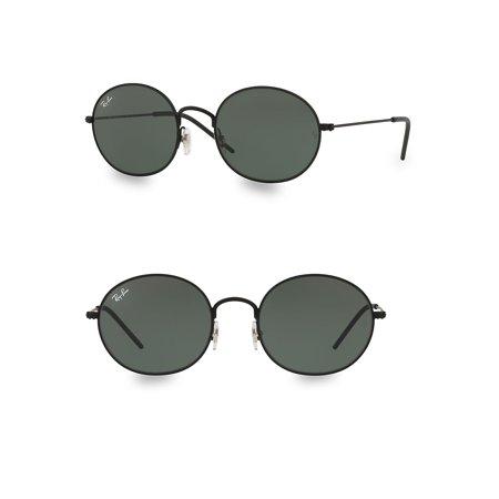 RB3594 53MM Oval Sunglasses (Ray Ban Oval Flat Sunglasses)