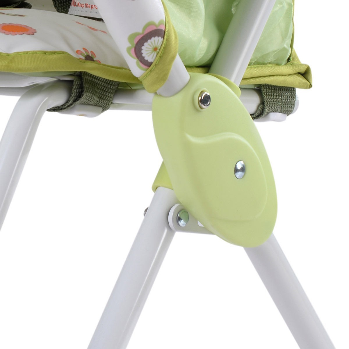 Baby High Chair Infant Toddler Feeding Booster Seat Folding Safe Portable - Green