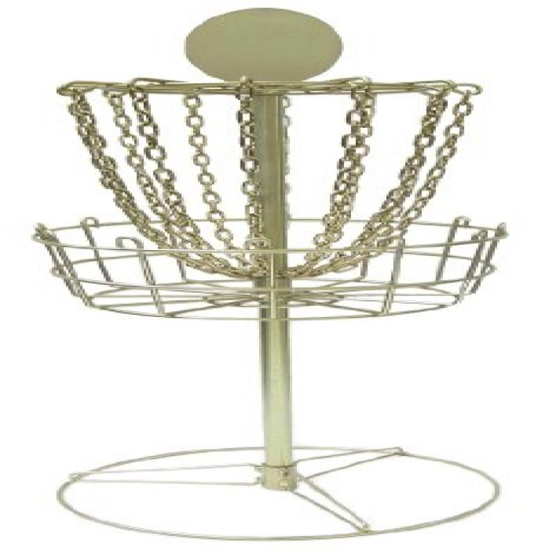 DGA Mini Trophy Disc Golf Basket (Gold) by