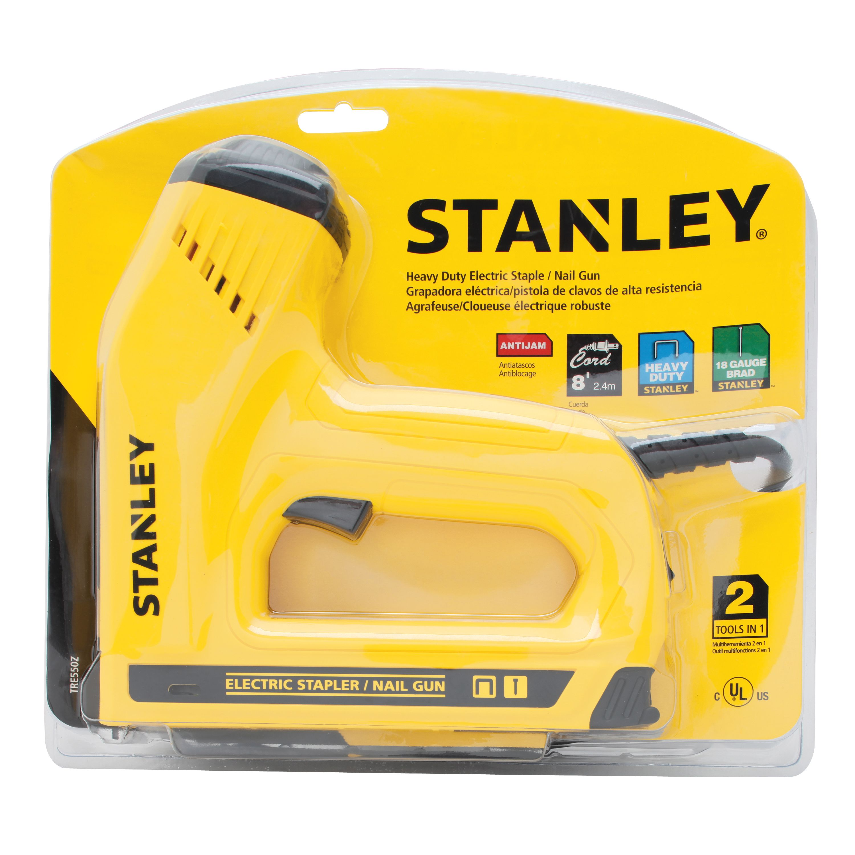 STANLEY TRE550Z 2-in-1 Electric Stapler and Brad Nailer