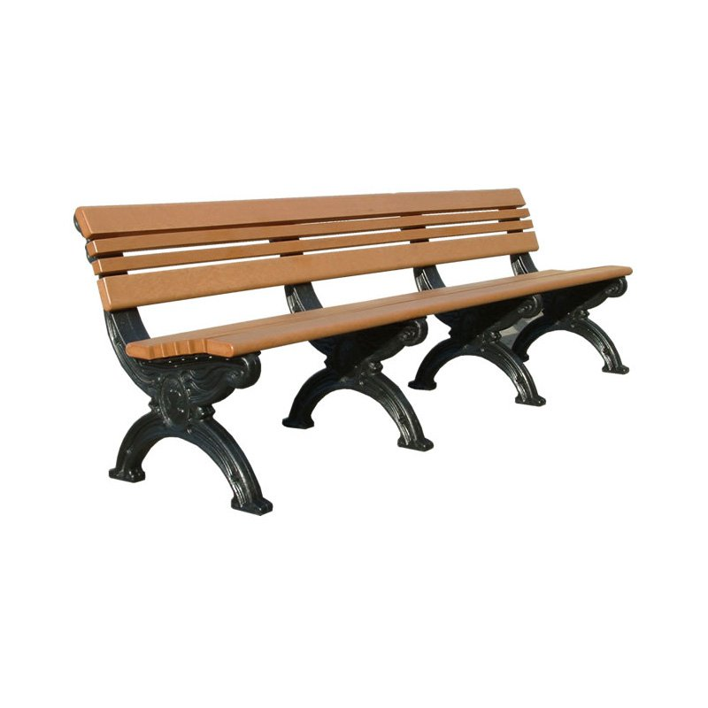 Polly Products Cambridge Backed Bench