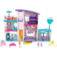 Polly Pocket Poppin' Party Pad with Polly Doll & Accessories