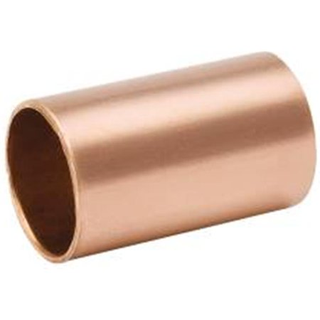 Copper Coupling Less Stop - COPPER COUPLING LESS STOP, 1-1/4 IN. X 1-3/8 IN. OD