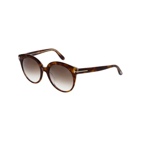 c7487ad02c793 Tom Ford Women s Gradient Monica FT0429-56F-54 Brown Round Sunglasses -  image 3 ...