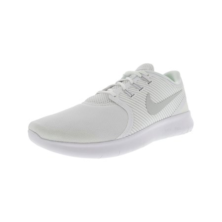 6ceb330cfc996 Nike Men s Free Rn Cmtr White   Pure Platinum Ankle-High Running Shoe - 11M  ...