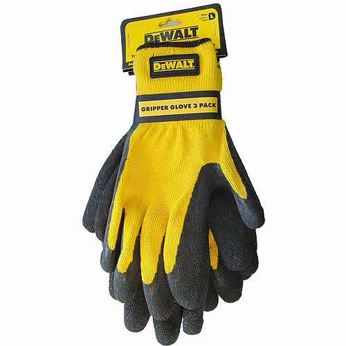 Radians Gripper Gloves, 3pk