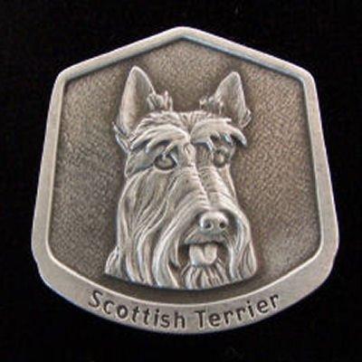Scottish Terrier Fine Pewter Dog Breed Ornament