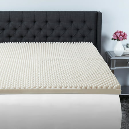 Beautyrest 3 inch Convoluted Foam Mattress Topper in Multiple Sizes