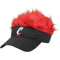 NCAA Cincinnati Bearcats Flair Hair Cap Visor Black