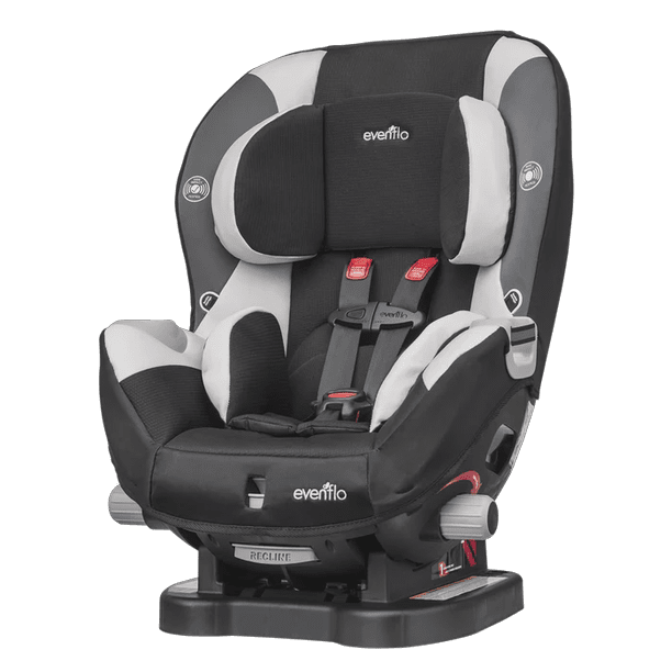 Evenflo Triumph Lx Harness Convertible, Convertible Car Seat With Wheels