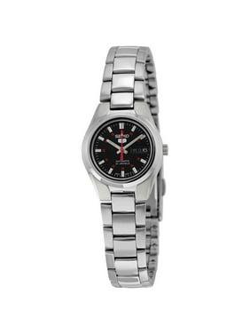 Seiko Women's 5 Automatic SYMC27K Silver Stainless-Steel Automatic Dress Watch