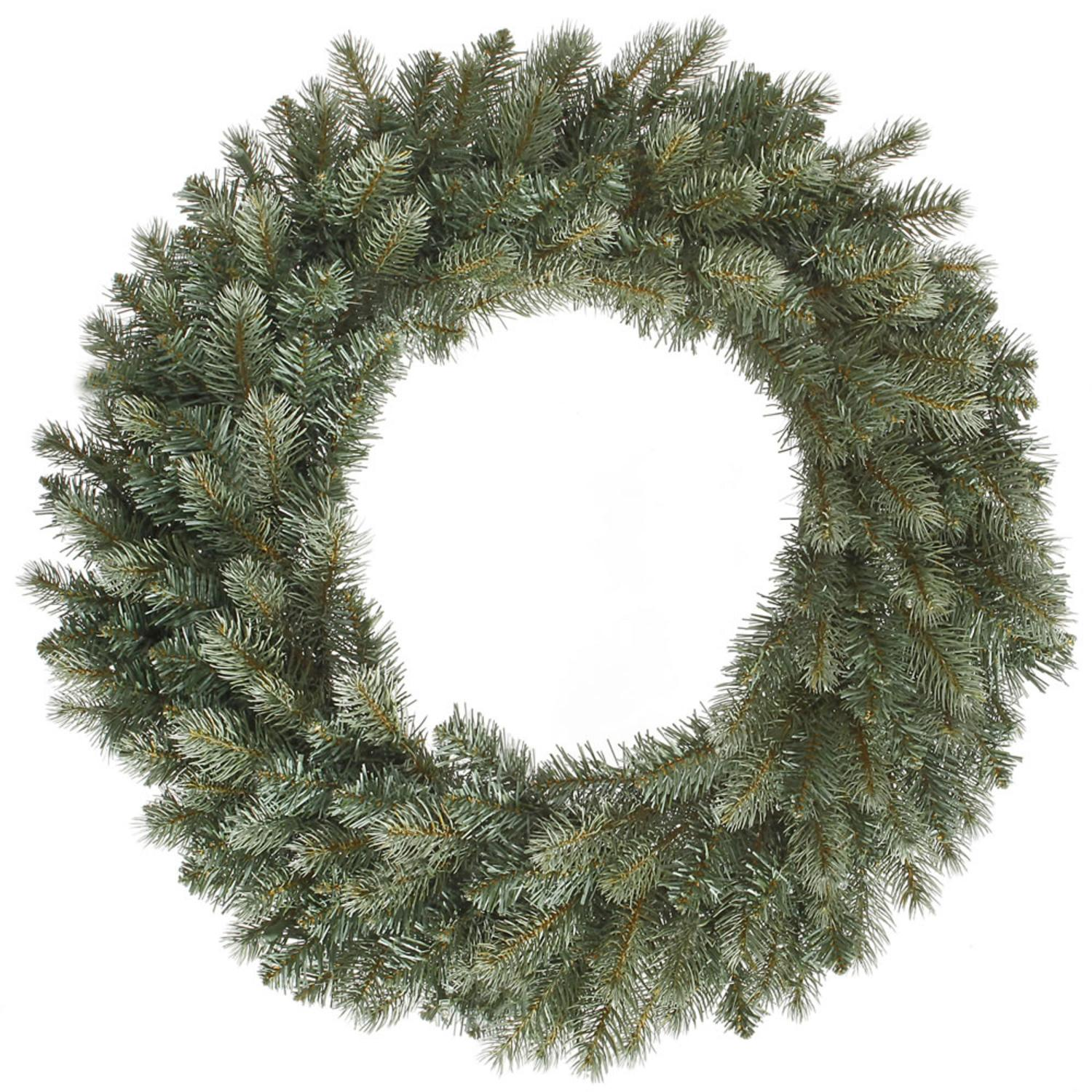 "36"" Colorado Blue Spruce Artificial Christmas Wreath - Unlit"