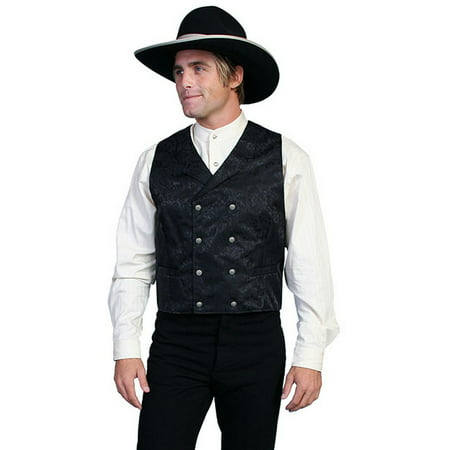Scully Western Vest Mens Silk Jacquard Formal Dress Button 535344](Western Vests)