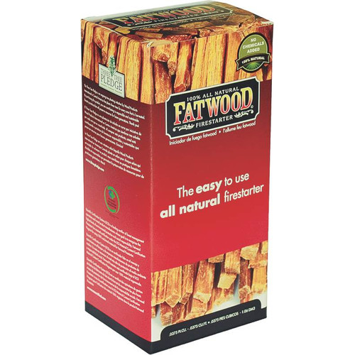 Click here to buy Fatwood 9983 Fire Starter, 1.5 lb Color Box, Pine Wood by Wood Products.