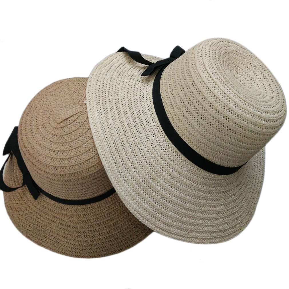 Elegant Women Summer Beach Hat New Wide Brim Style Sun Straw Floppy Hat. By OCDAY. Sold and shipped by. 0 Reviews 0.0/5 stars, based on 0 reviews. Zoom. Qty ...