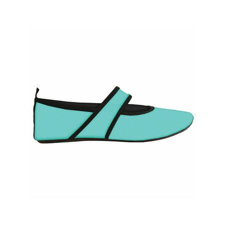 558580a3e08 Nufoot - Women s Nufoot(r) Indoor Outdoor Futsole Neoprene Slippers -  Walmart.com