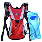 MOSOS Cycling Hydration Pack Water Backpack Hiking Climbing Pouch
