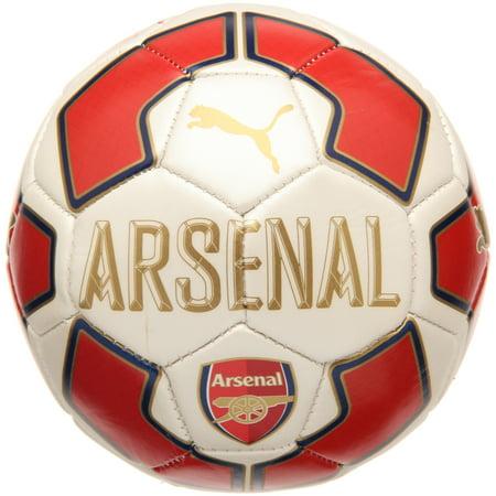 Arsenal Puma Mini Fan Soccer Ball 2 - White - 1
