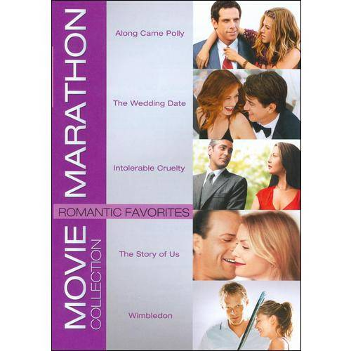 Movie Marathon Collection: Romantic Favorites - Along Came Polly / The Wedding Date / Intolerable Cruelty / The Story Of Us / Wimbledon (Widescreen)