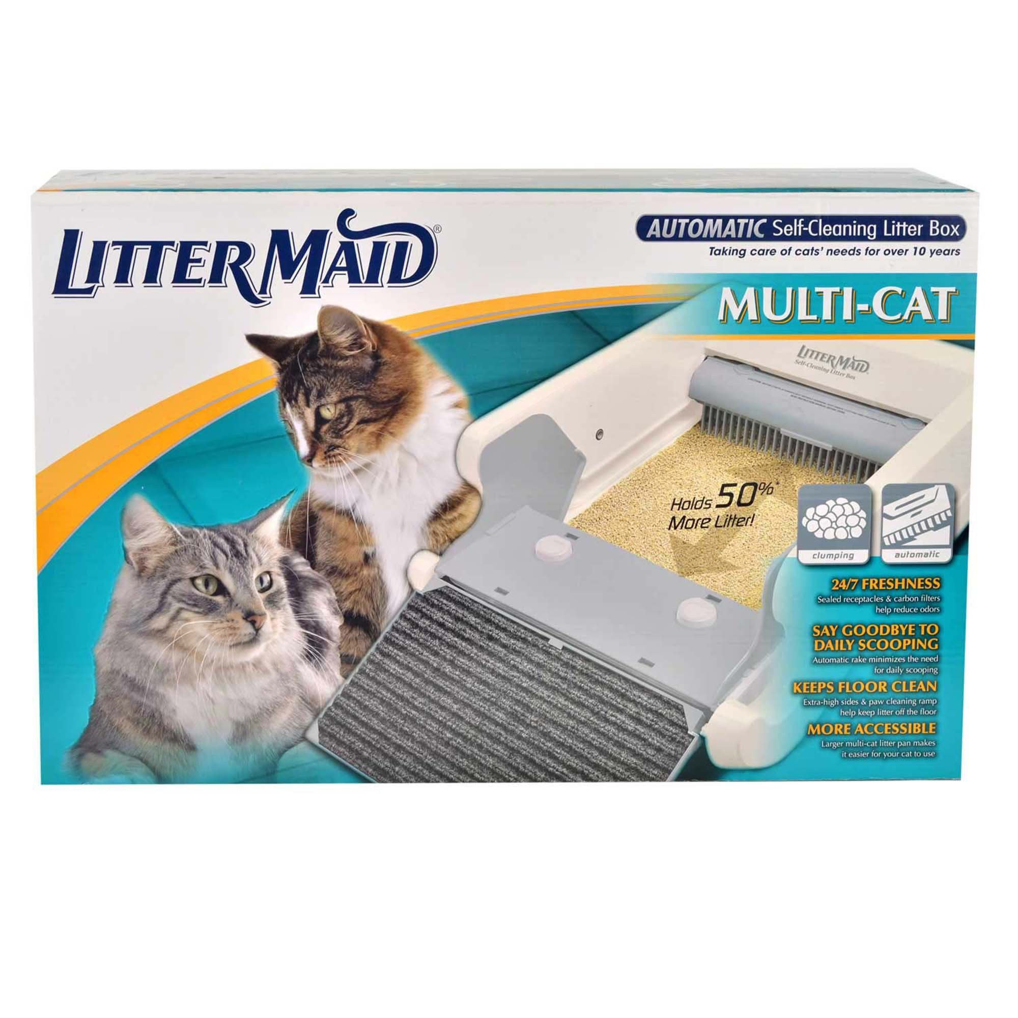 Littermaid LM-86579 Multi-Cat Automatic Self-Cleaning Lit...