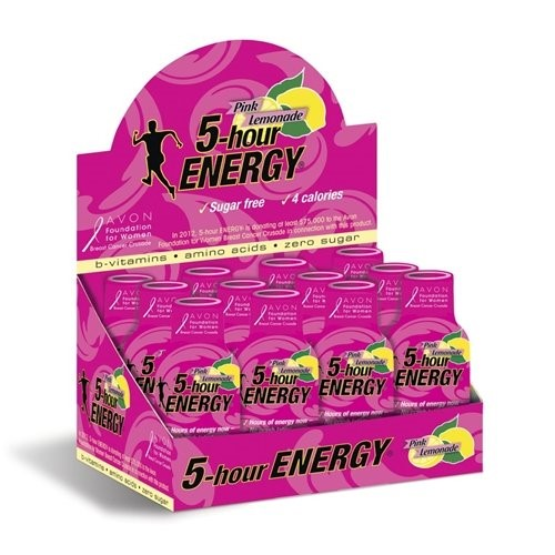 5-Hour Energy, Pink Lemonade, 1.93 Fl Oz, 12 Ct