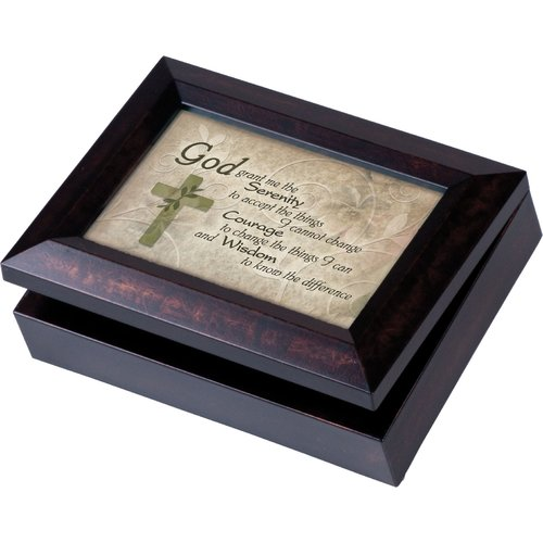 Cottage Garden Digital Music Jewelry Box