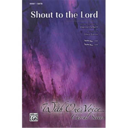 Alfred 00-36909 SHOUT TO THE LORD-ITRX CD - image 1 of 1
