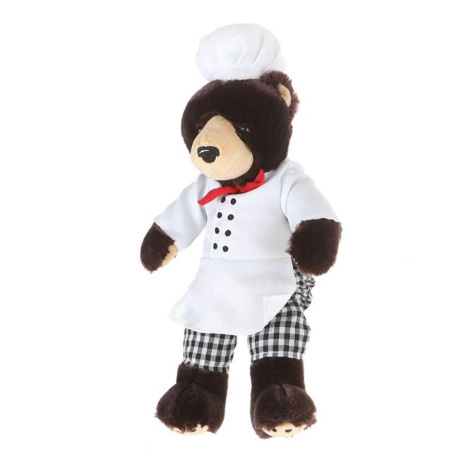 Giftable World A00042 10 in. Plush Bear Chef - image 1 de 1