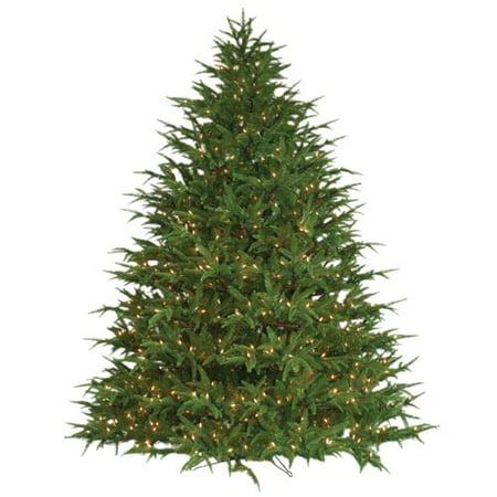 Barcana Belvedere 9' Green Fir Artificial Christmas Tree with 1400 Lights  with Stand - Barcana Belvedere 9' Green Fir Artificial Christmas Tree With 1400