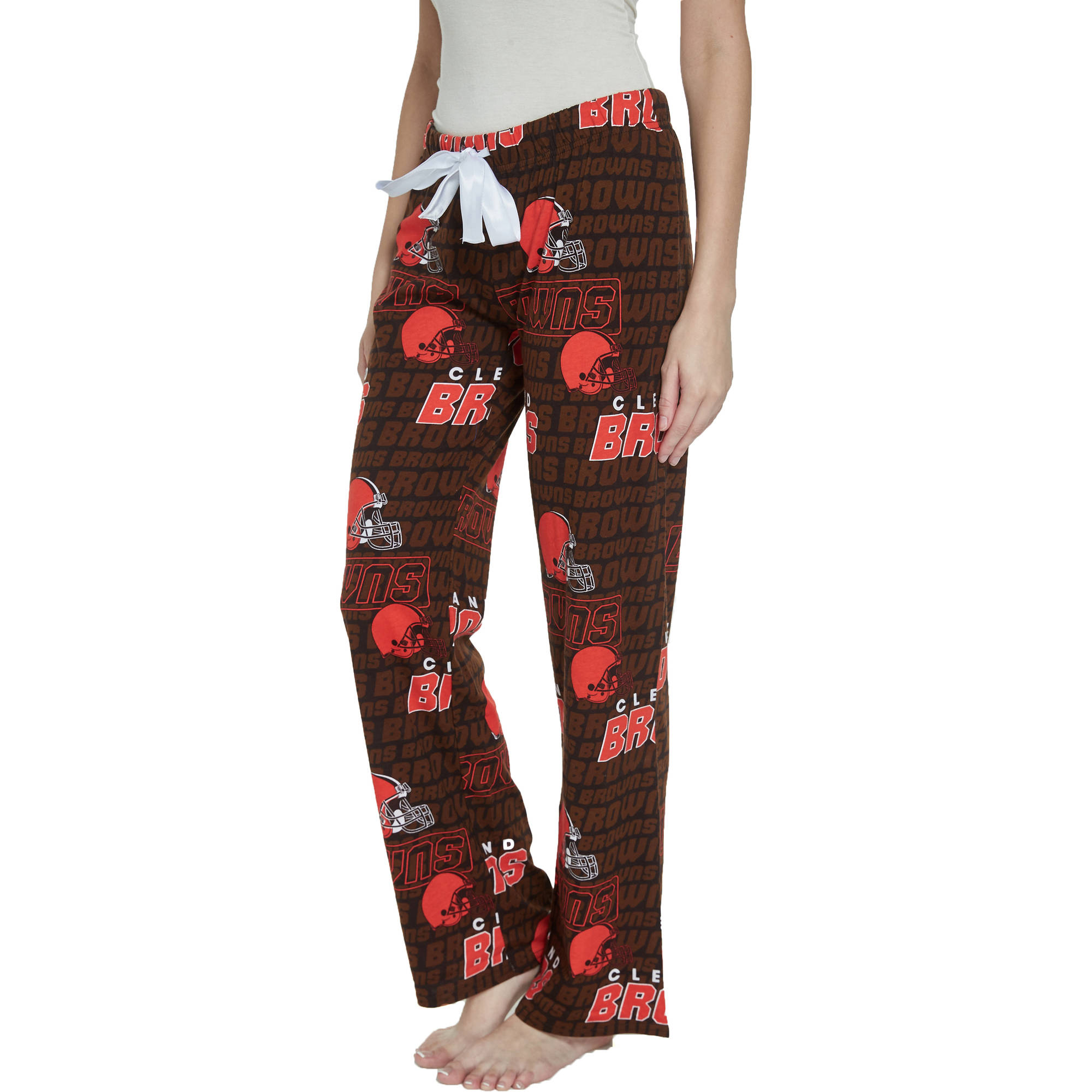 NFL Cleveland Browns Transform Ladies' AOP Knit Pant