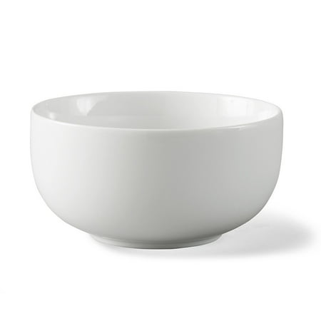 Better Homes & Gardens Small Coupe Bowl, White, Set of (Rose Small Bowl)