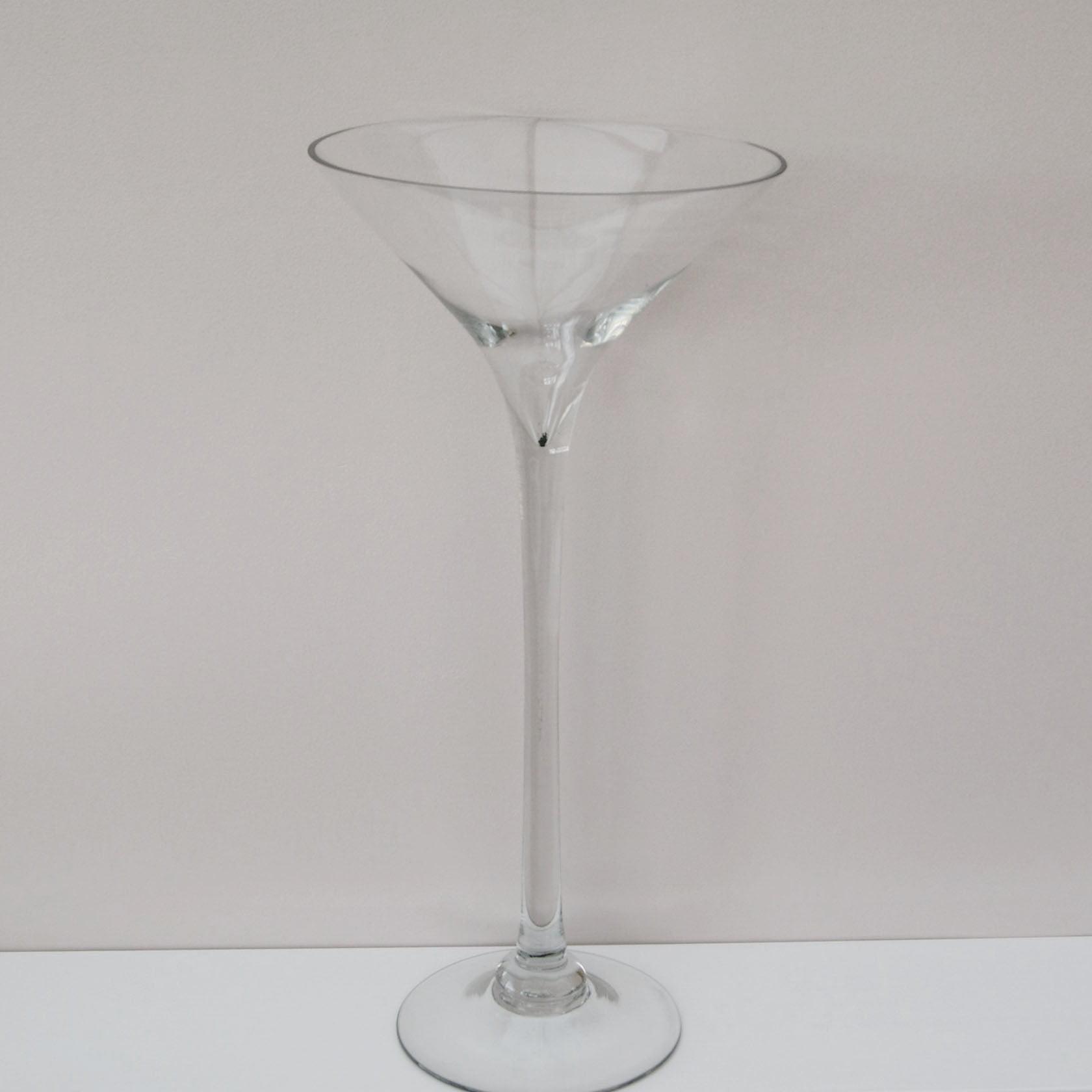 Jumbo Martini Glass Vase Centerpiece 16 inch Walmart