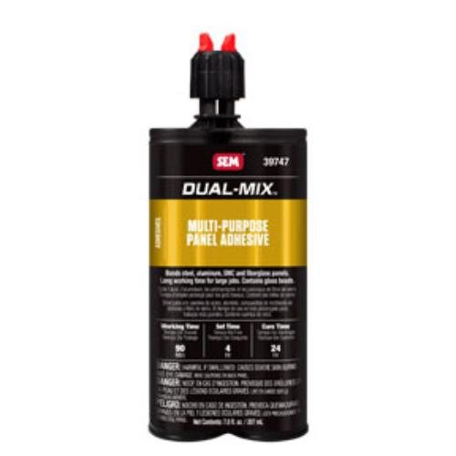 Sem Products SEM-39747 Dual-mix Multi-purpose Panel Adhesive, 7 Oz. Cartridge