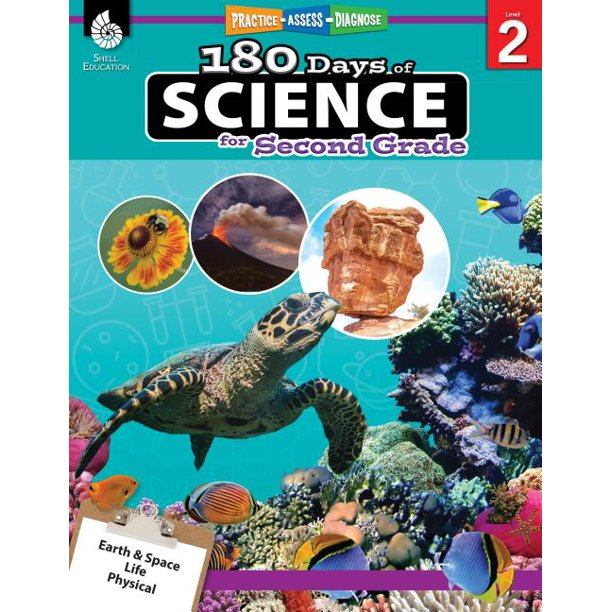 180 Days of Practice: 180 Days of Science for Second Grade: Practice, Assess, Diagnose (Paperback)
