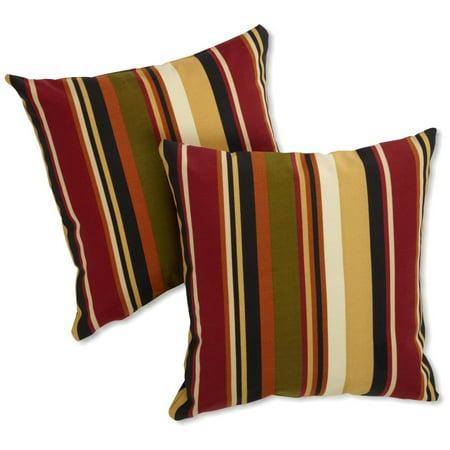Blazing Needles 25 X 25 In Jumbo Outdoor Throw Pillows