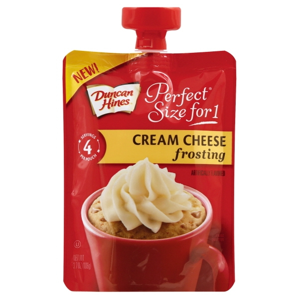 Duncan Hines Ps1 Cream Cheese Frosting