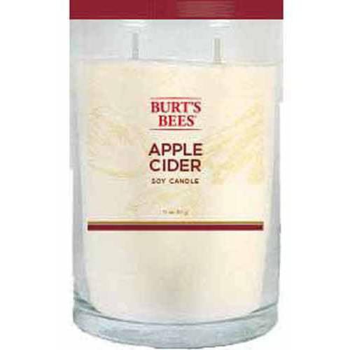 Burt's Bees 11 Oz Candle, Apple Cider
