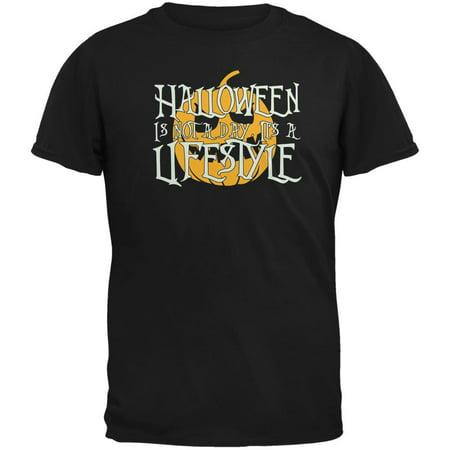 Halloween Lifestyle Black Adult T-Shirt - Obama Style Halloween