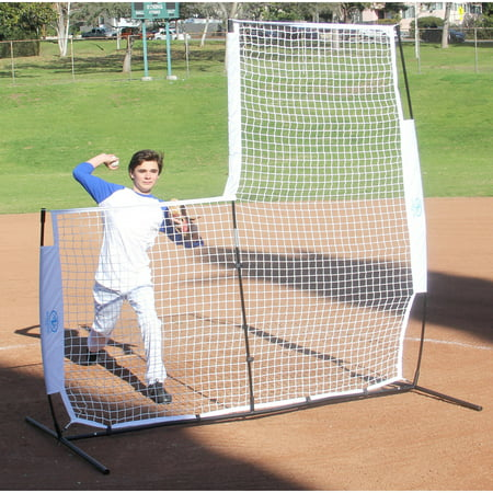Schutt Training Baseball - Athletic Works 7' x 7' Baseball L-Screen Training Net