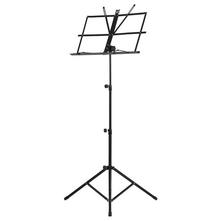 Foldable Sheet Music Tripod Stand Holder Lightweight with Water-resistant Carry Bag for Violin Piano Guitar Instrument