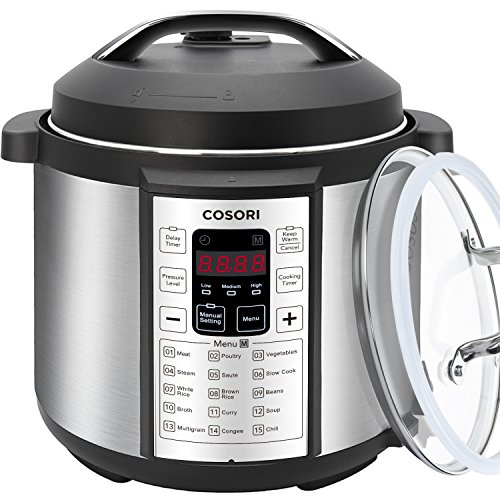 COSORI 7-in-1 Multifunctional Electric Pressure Cooker wi...